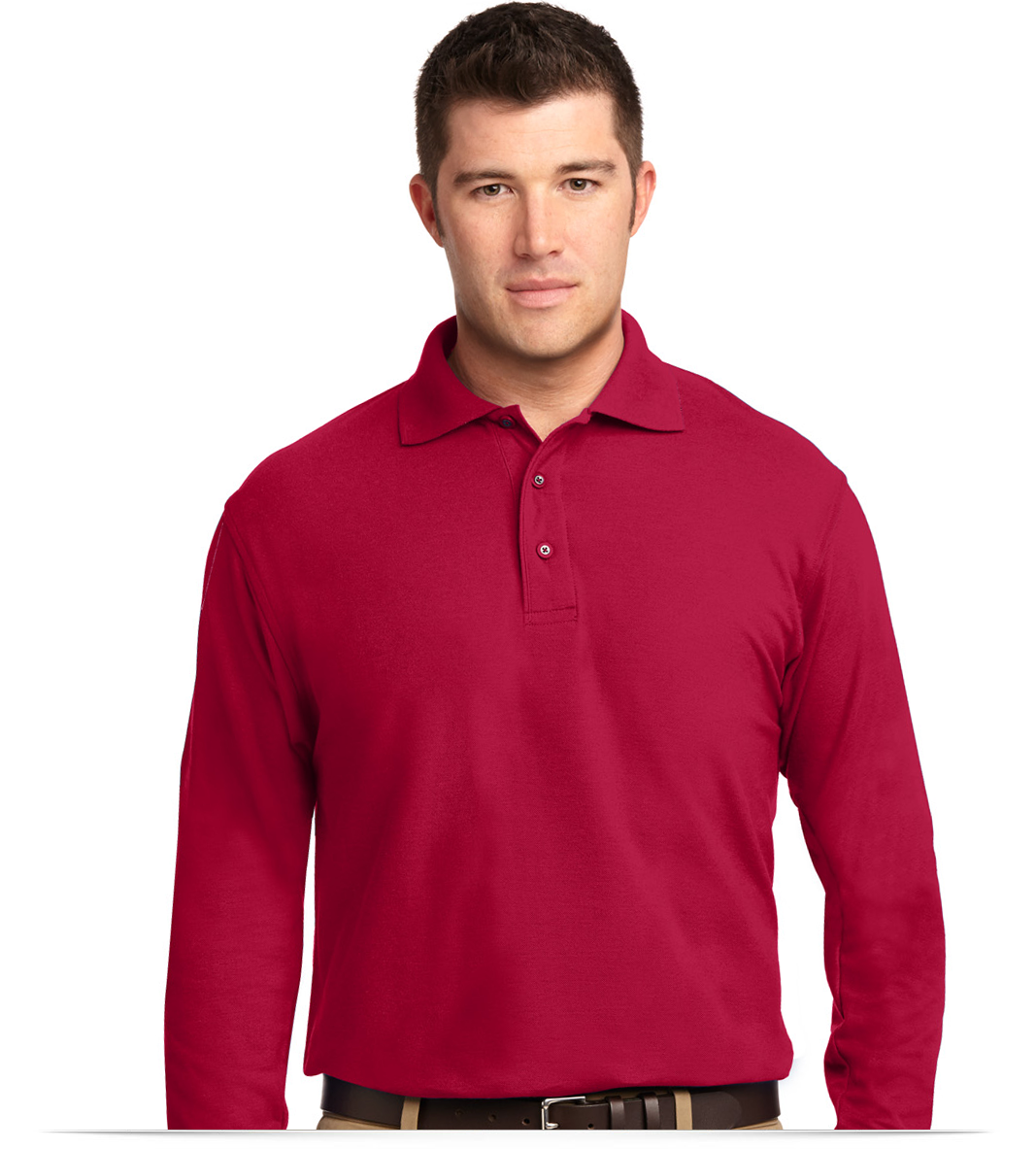 Design Custom Long Sleeve Polo Shirt With Logo Online Allstar Logo