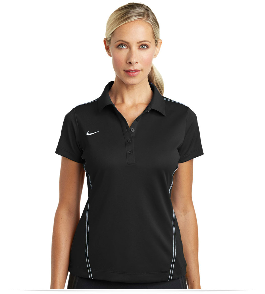 ced2ef28 Design Embroidered Women's Nike Golf Shirt Online at AllStar