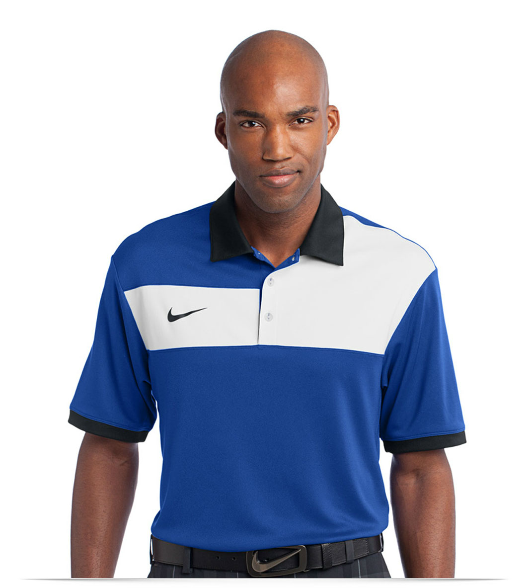 Design Embroidered Nike Golf Dri Fit Sport Colorblock Polo Online