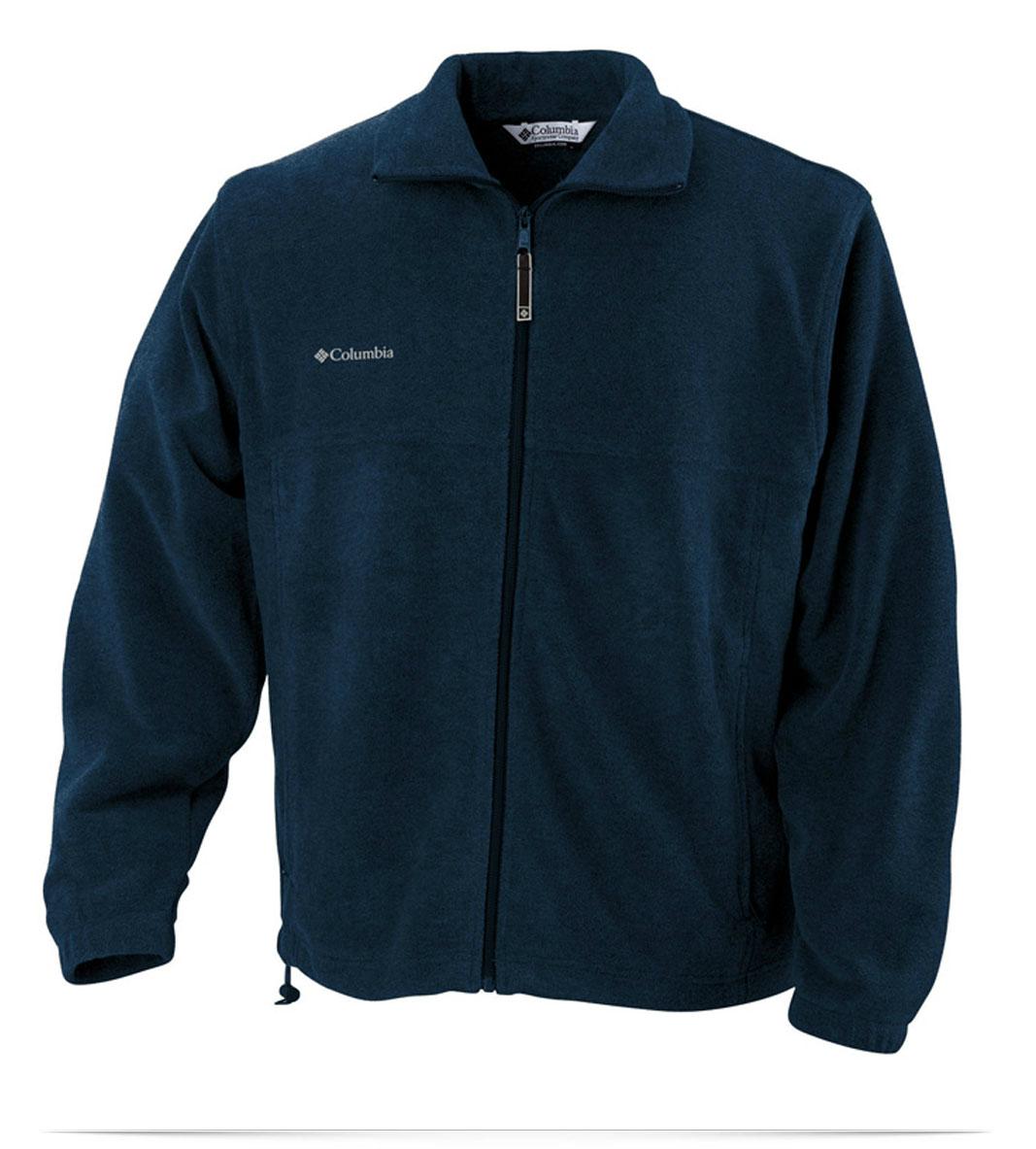 Columbia Fleece Jacket Custom Logo Embroidered