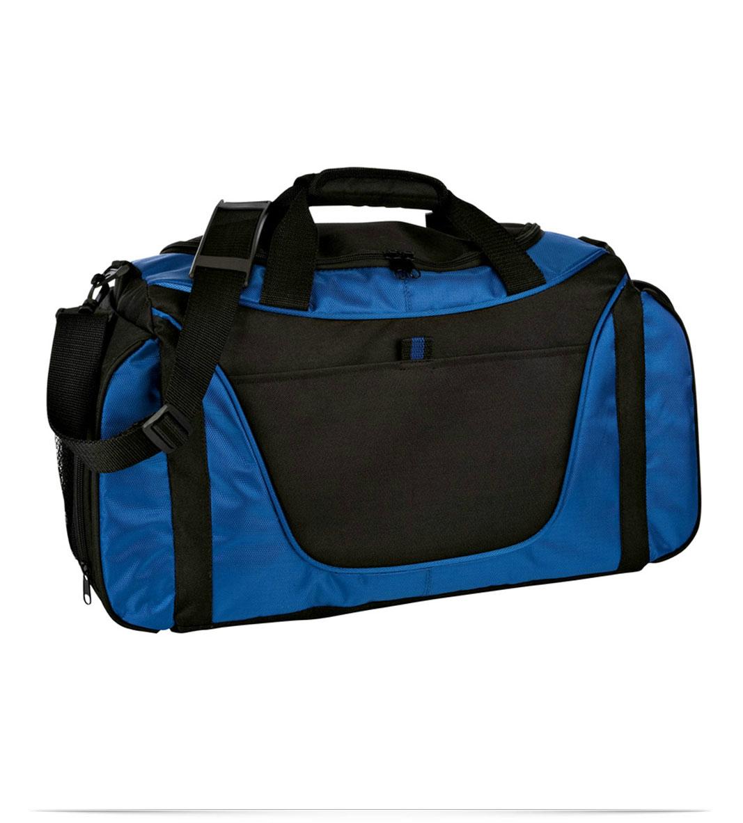a8bddfdf7f1a Design Embroidered Two-Tone Duffel Bag Online at AllStar Logo