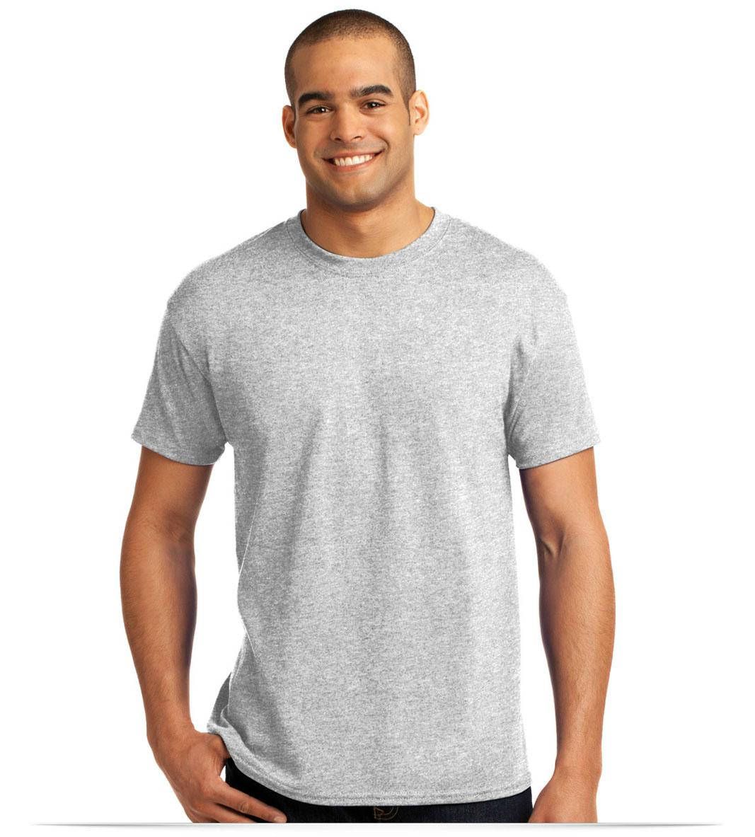 14515f9d Hanes 50/50 T-Shirt, Custom Printed at AllStar Logo