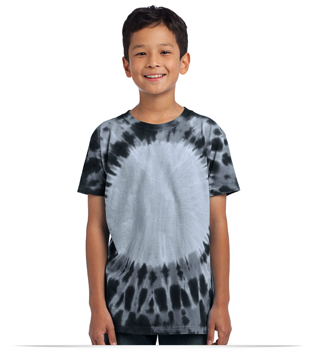 c4d0a7c4337 Custom Printed Port and Company Youth Tie-Dye Tee at AllStar Logo
