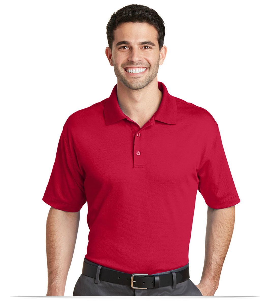 89a2de4f3 Personalized Port Authority Rapid Dry Mesh Polo with Embroidered Logo