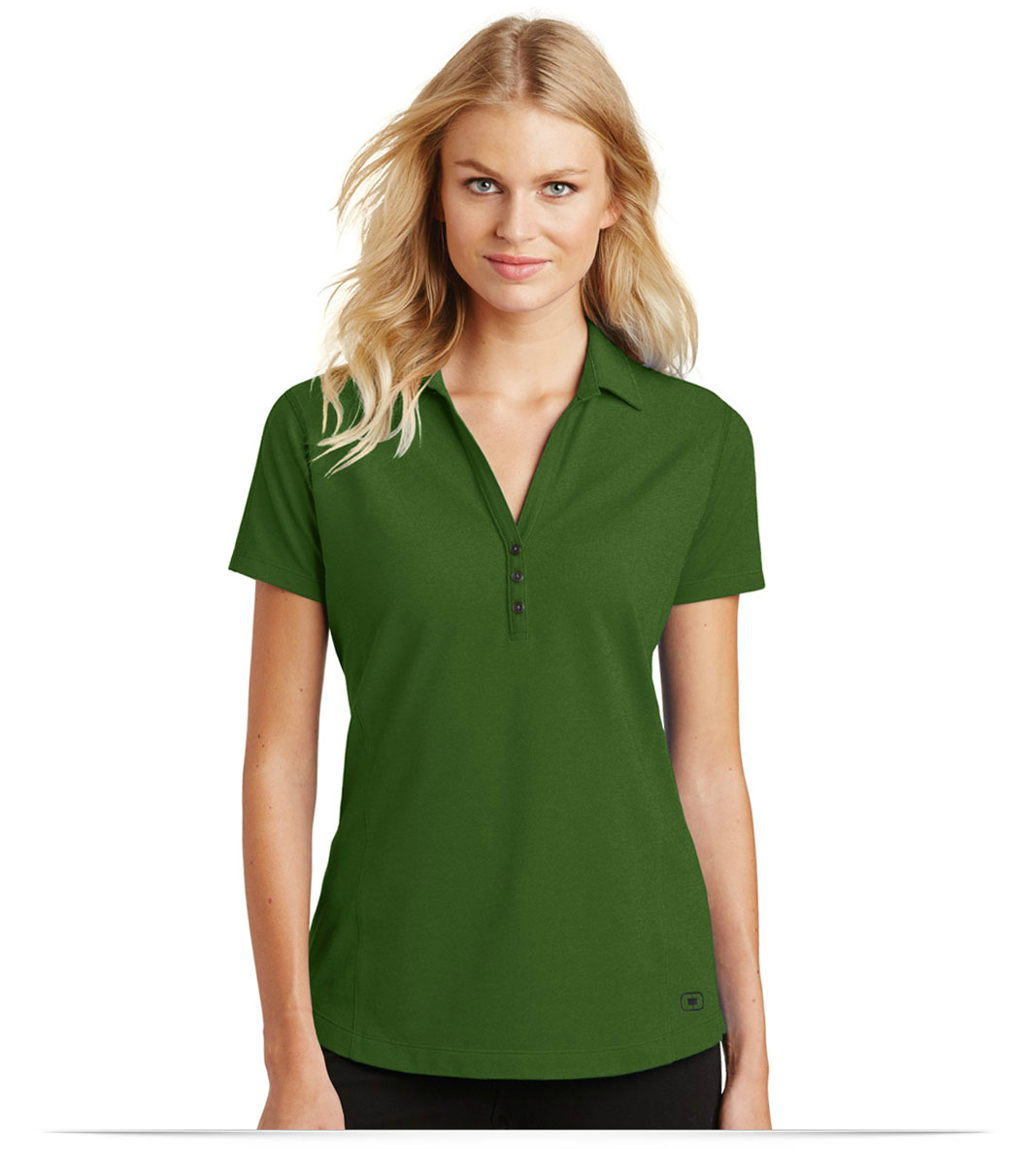 Design embroidered OGIO Ladies Onyx Polo online at AllStar Logo fc9ce35379d6