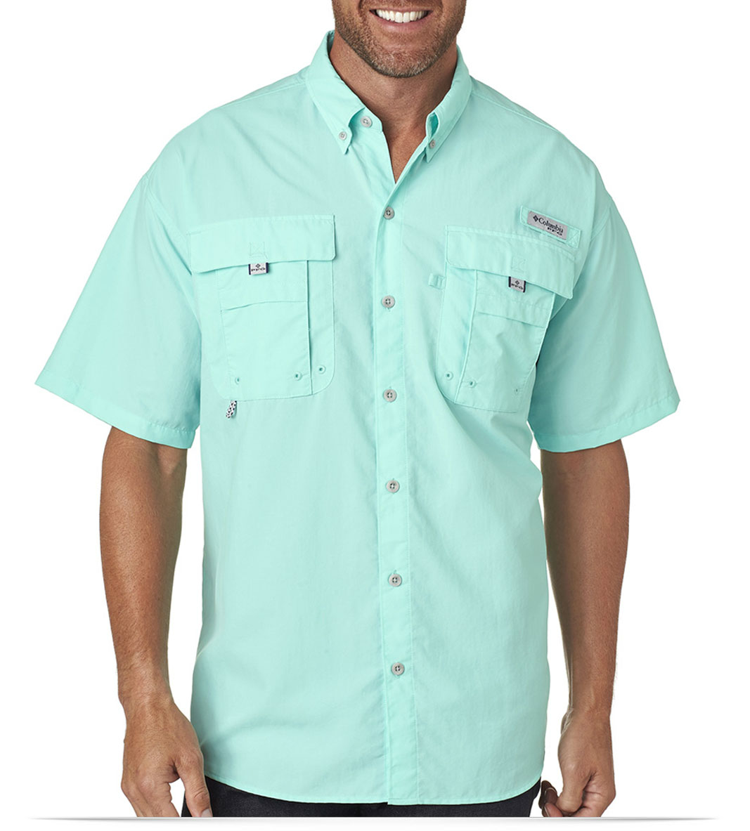 817ef2484c0 Custom Embroidered Columbia Men's Bahama II Short-Sleeve Shirt Online
