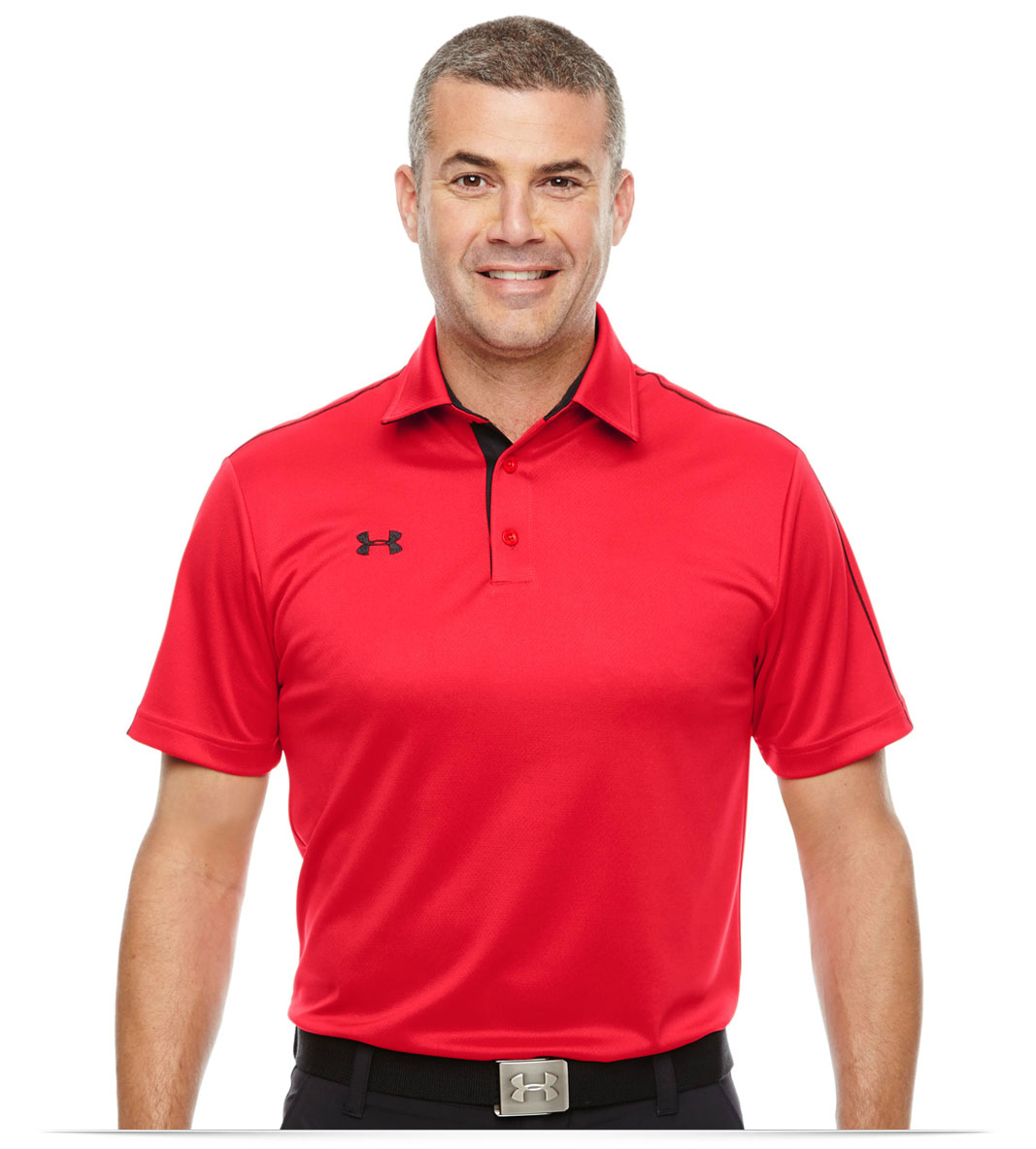 Custom Embroidered Under Armour Mens Polo Allstar Logo