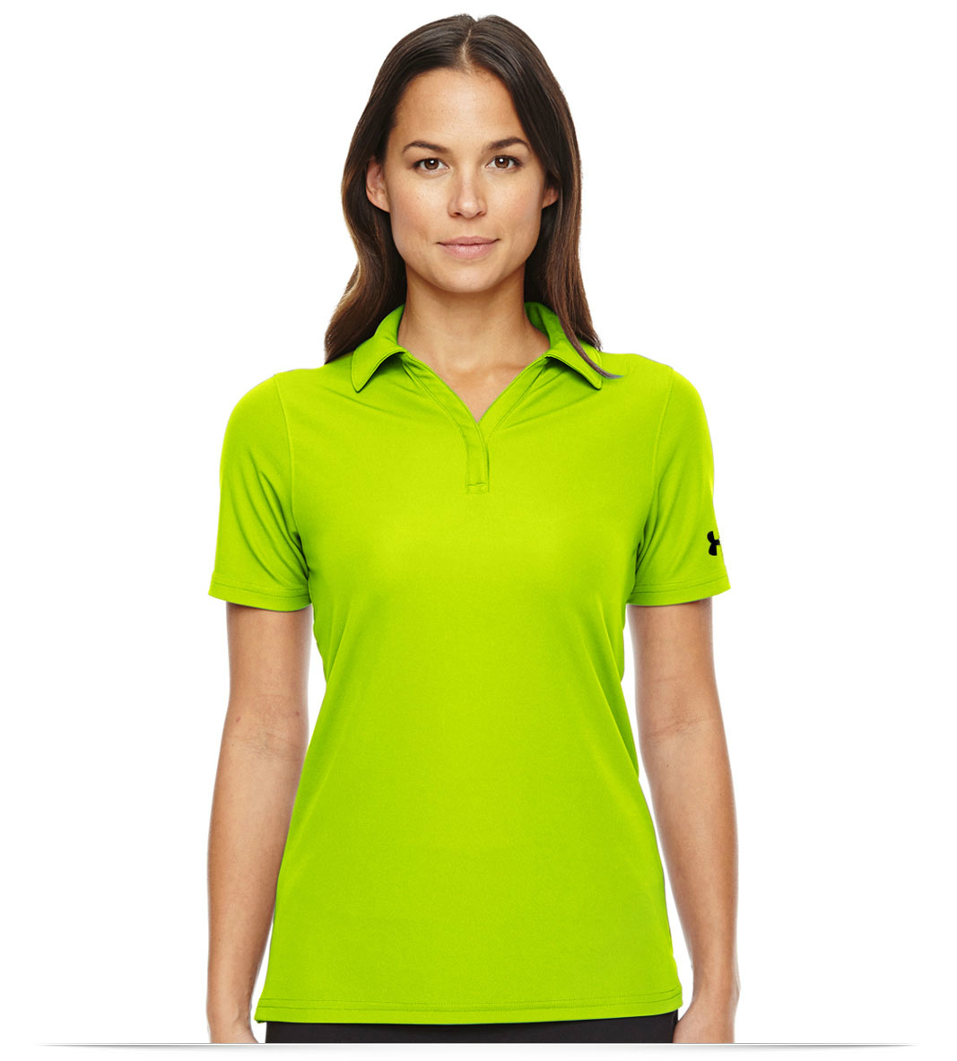 Personalized Under Armour Ladies Corp Performance Polo at AllStar Logo a09ed23e1befa