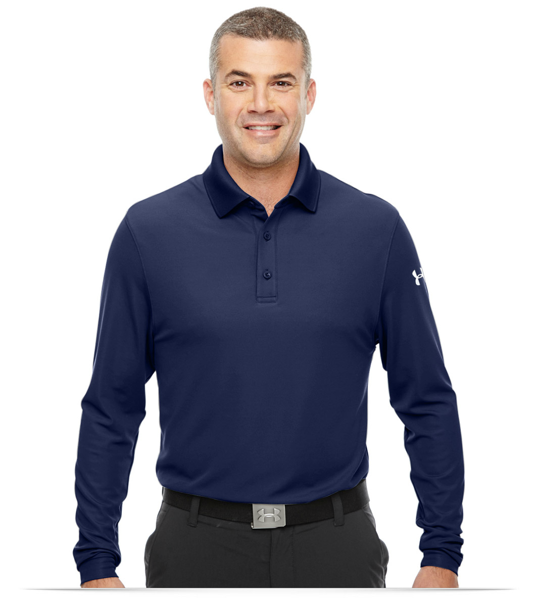 b62ed93eaba Custom Under Armour Men s Performance Long Sleeve Polo