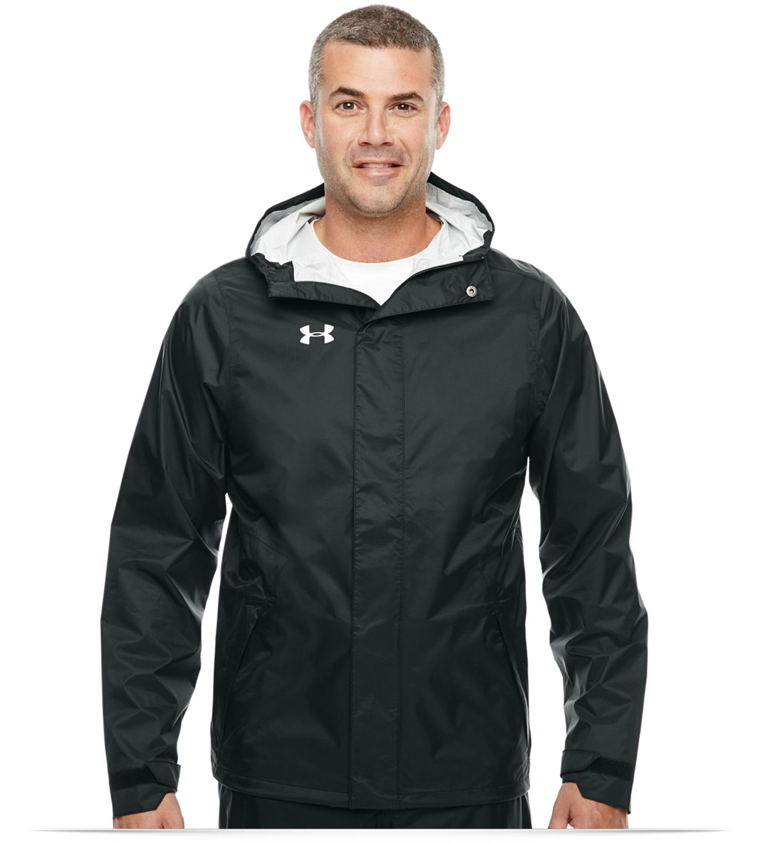 9b7bca03a3fc Custom Under Armour Men s Ace Rain Jacket Online at AllStar Logo