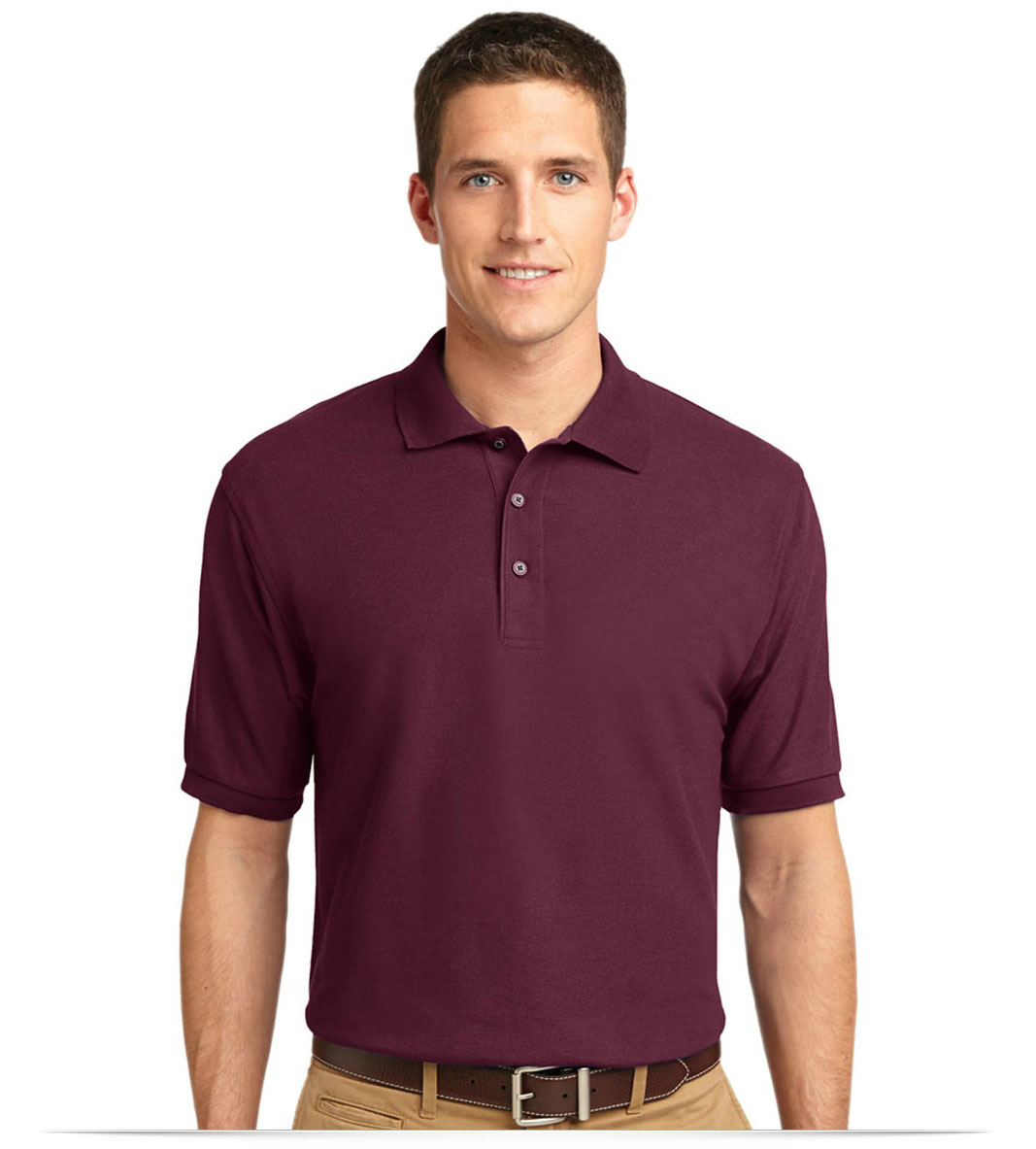 Mens Personalized Port Authority Polo Shirts Allstar Logo