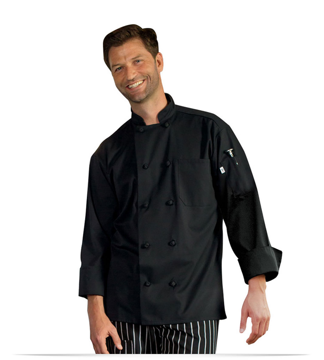 Embroidered Ladies Chef Jacket