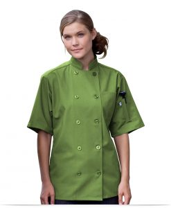 Personalized Logo 10 Button Short-Sleeve Chef Jacket