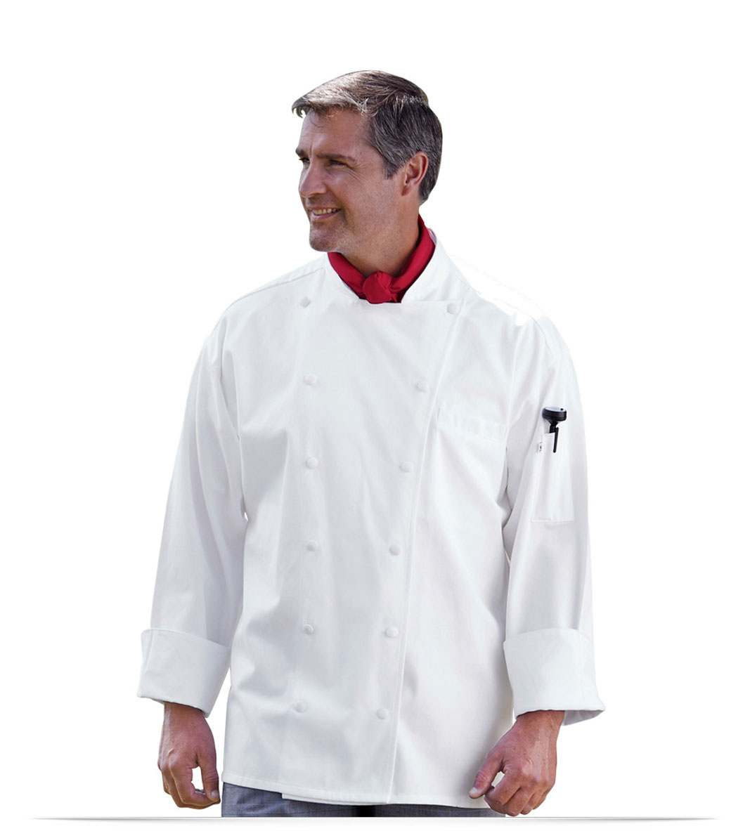 Embroidered Logo Executive Chef's Jacket Palarmo