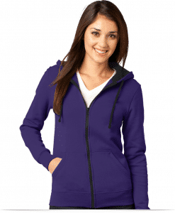 Customize Eddie Bauer Juniors Concert Fleece Full-Zip Hoodie