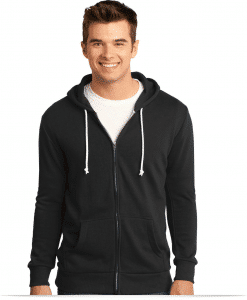 Customize Young Men's Core Fleece Full-Zip Hoodie