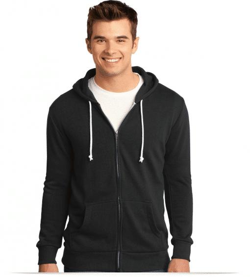 Customize Young Men's Core Fleece Full-Zip Hoodie