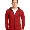 Personalized Young Men's Fleece Full-Zip Hoodie