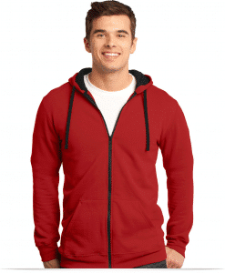 Personalized Young Men's Fleece Full-Zip Hoodie