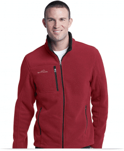 Customize Full-Zip Fleece Jacket by Eddie Bauer