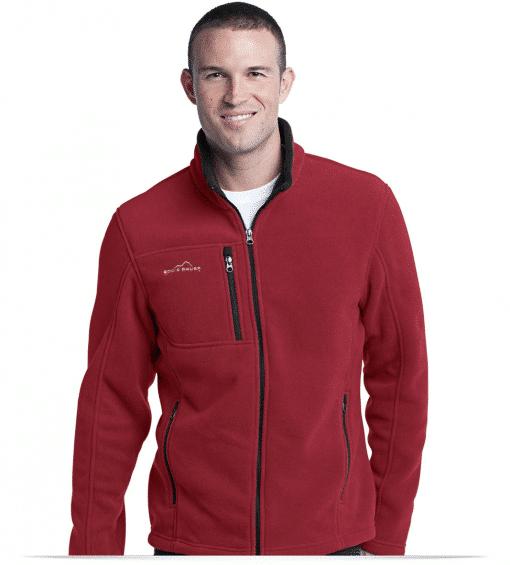 Customize Full-Zip Fleece Jacket by Eddie Bauer