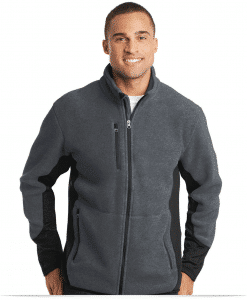 Customize Port Authority Fleece Full-Zip Jacket