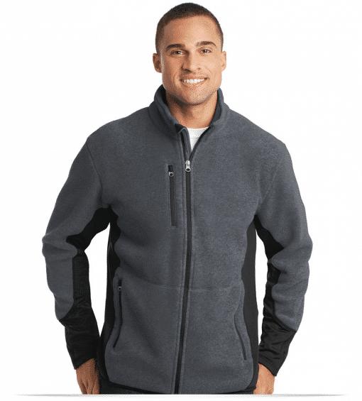 Customize Port Authority Fleece Full-Zip Jacket