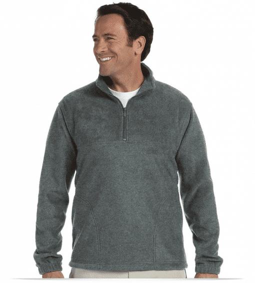 Custom Logo Fleece Pullover