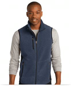 Customize Full Zip Fleece Vest
