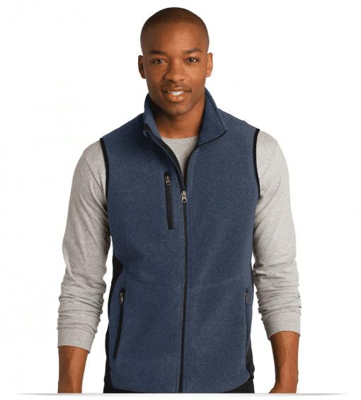 Customize Full Zip Fleece Vest