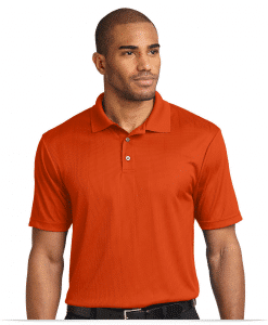 Performance Jacquard Polo shirt