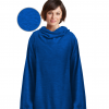 Embroidered Sweatshirt blankets with Sleeves