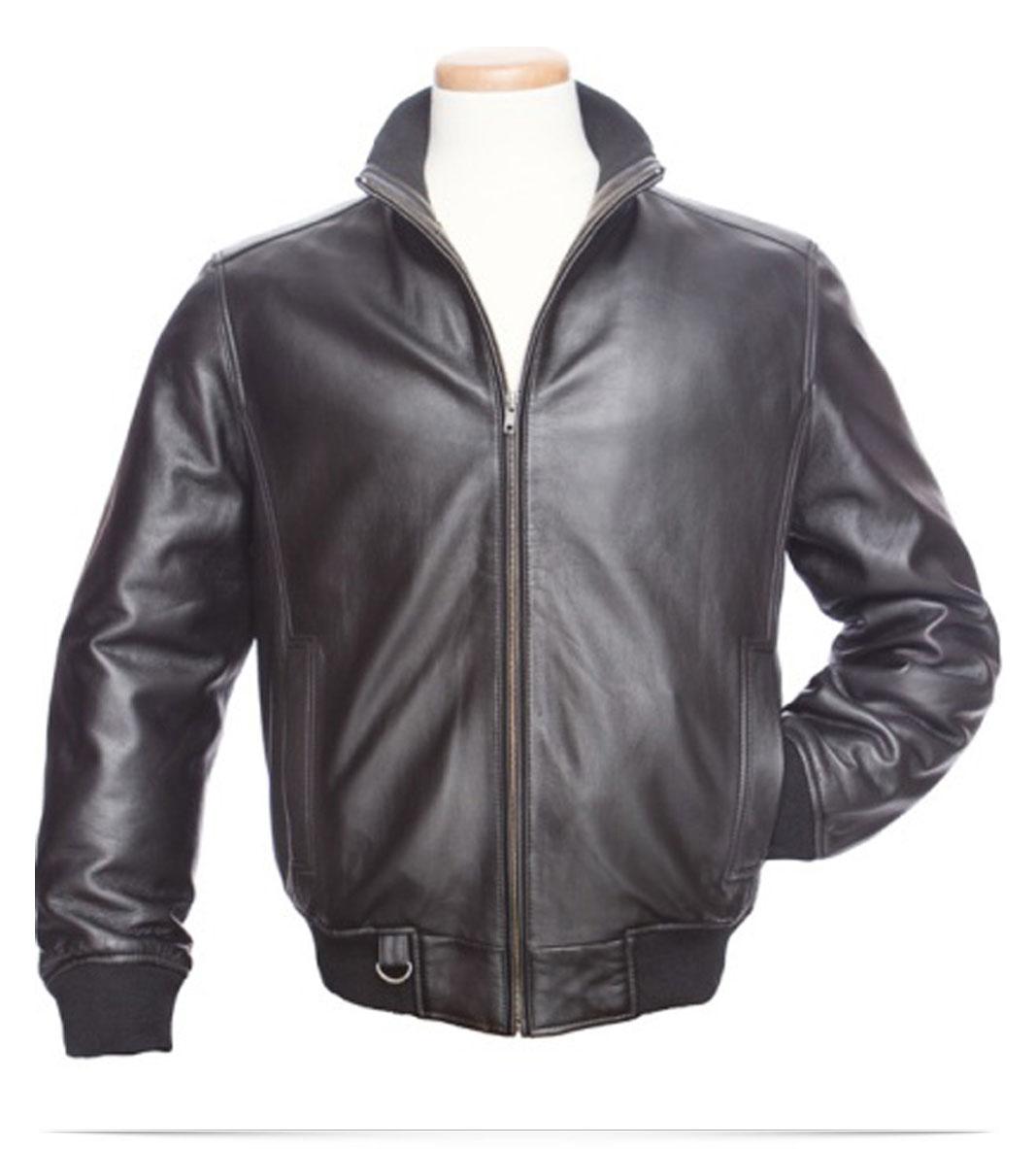 Customize Logo Urban Lambskin Leather Jacket
