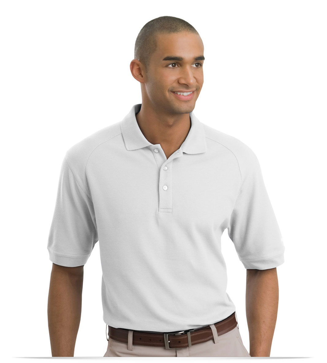 Design embroidered nike 100 cotton golf shirt online at for Nike cotton golf shirts