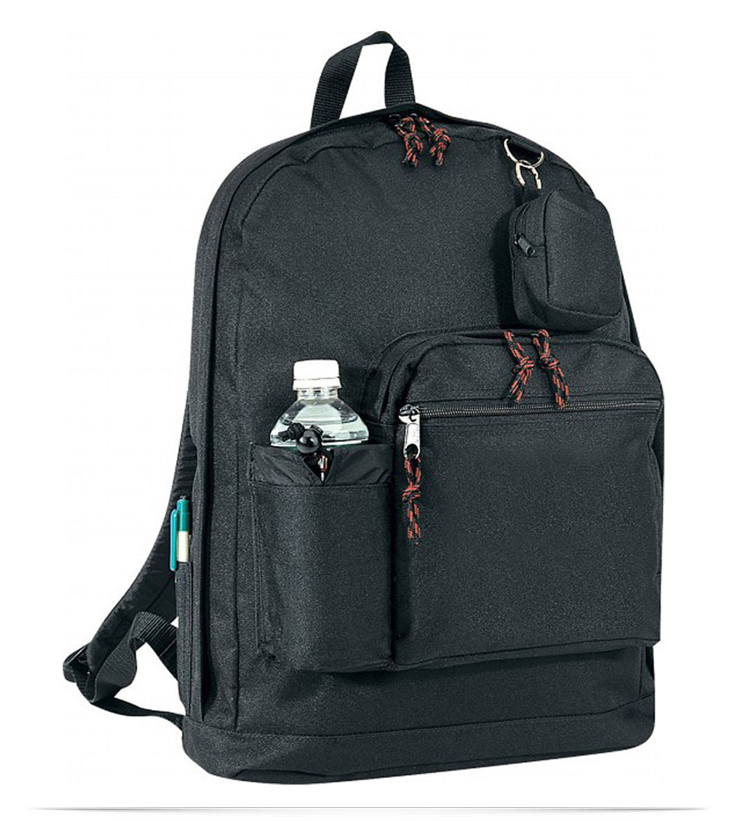 Customize Backpack with bottle holder