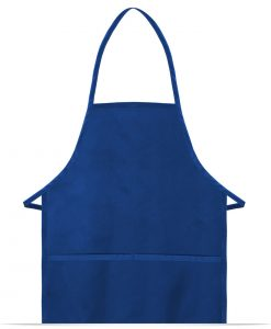 Customize Cover-up Bib Apron with 2 Pockets