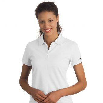 Personalized Nike Ladies Pique Golf Shirt