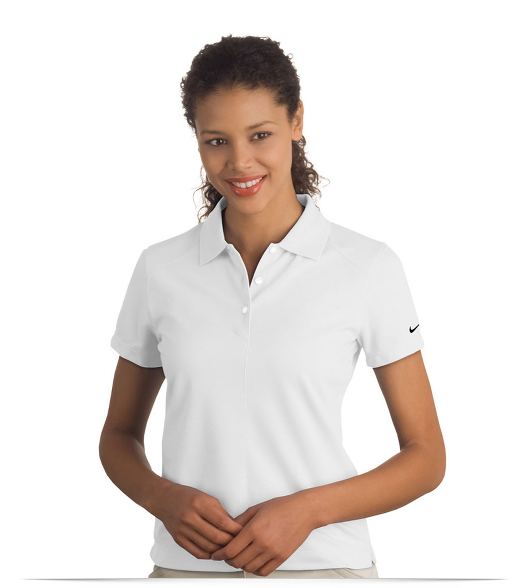 Personalized Nike Ladies Pique Golf Shirt