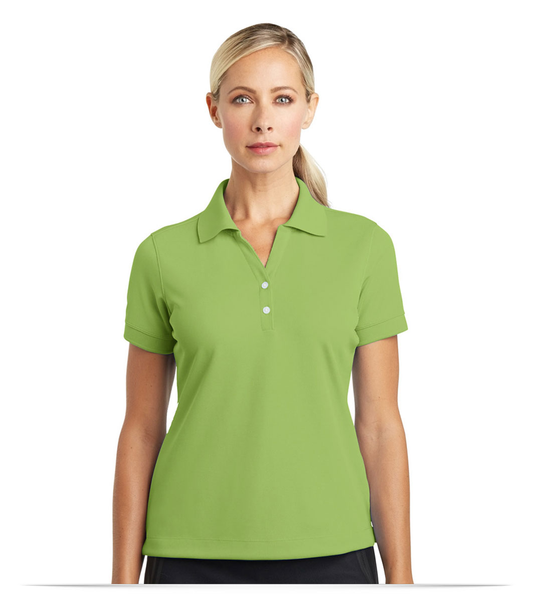 Design embroidered customized women 39 s nike golf shirt online for Custom adidas dri fit shirts