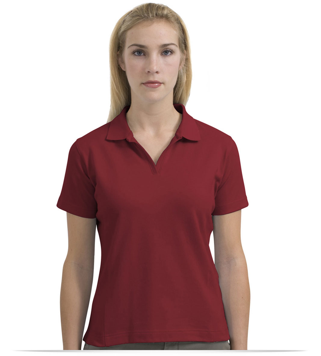 Design embroidered women 39 s nike golf shirt online at for Women s dri fit golf shirts