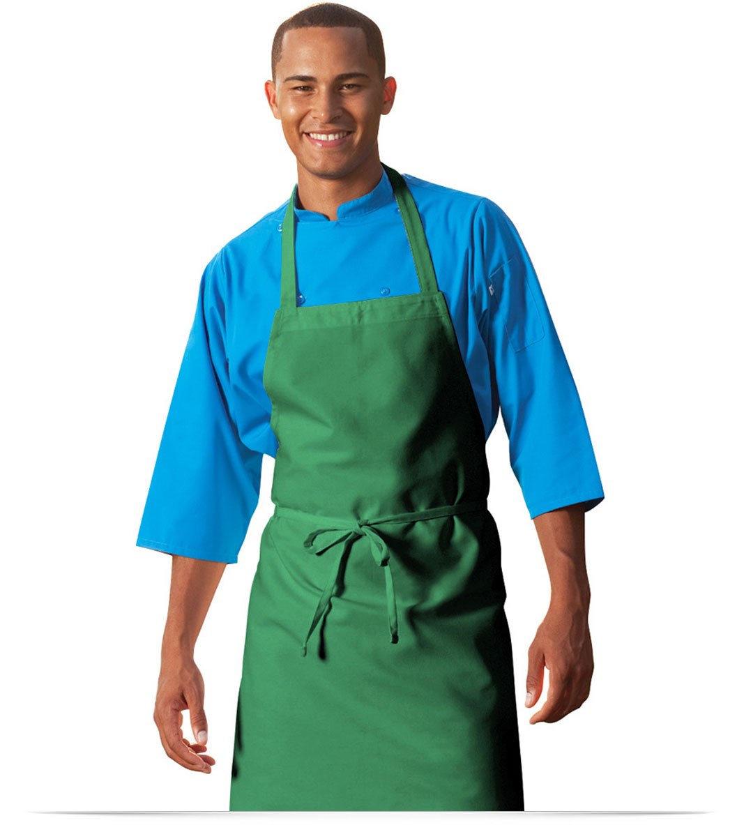 Customize AllStar Logo Poly/Cotton Twill Bib Apron