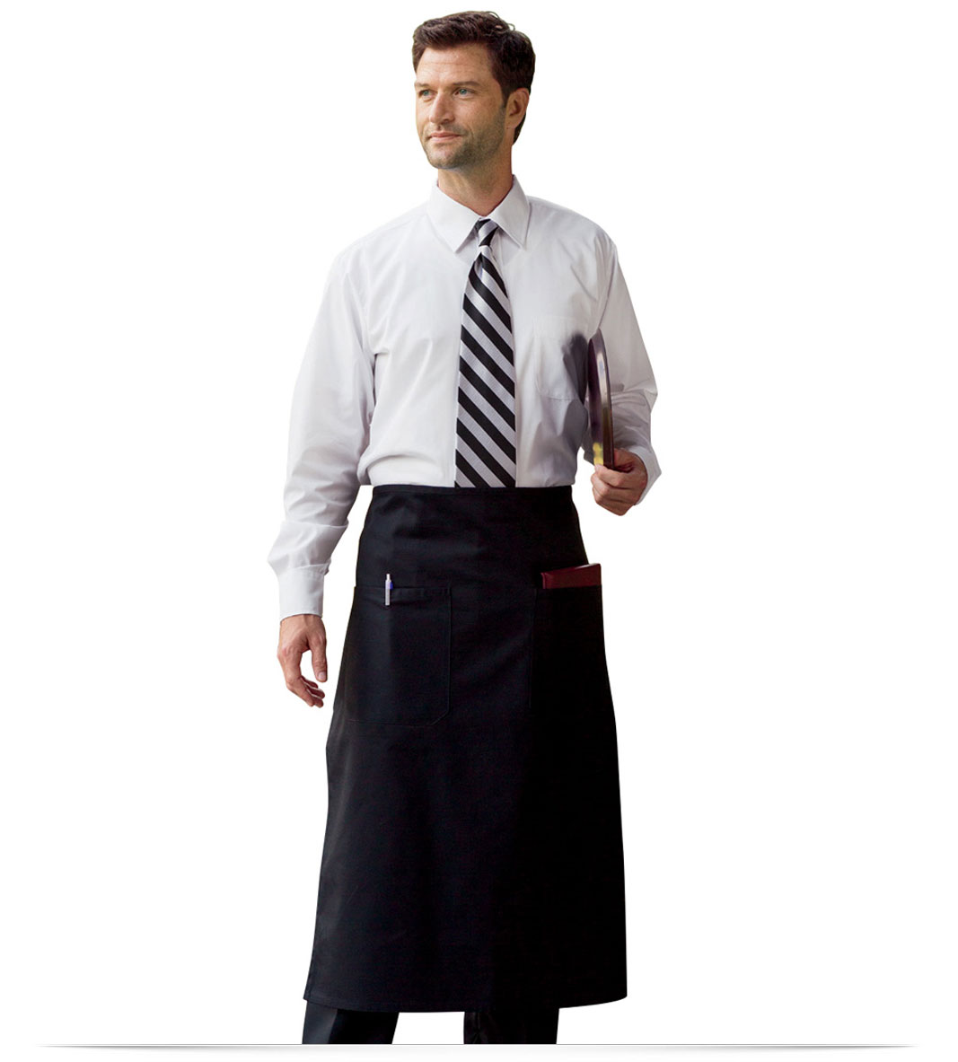 Customize Embroidered Bar Apron with Pocket