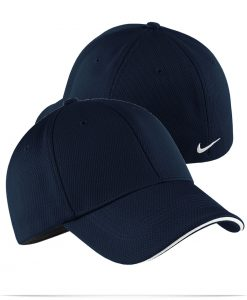 Embroidered Nike Golf Mesh Swoosh Sandwich Cap