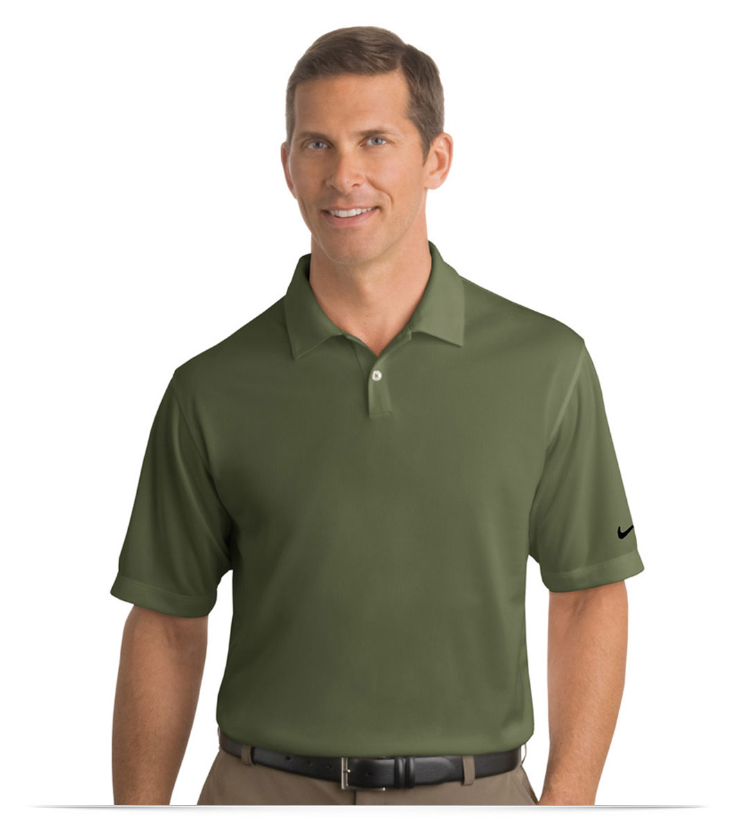 Design embroidered custom nike golf shirt online at for Embroidered nike golf shirts