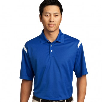 Custom Nike Dri-FIT Shoulder Stripe Polo