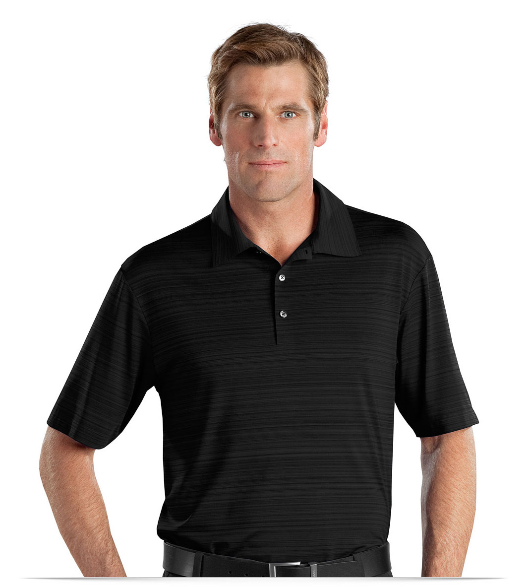 Customize Elite Series Dri-FIT Heather Fine Line Bonded Polo