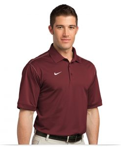 Customize Nike Golf Dri-FIT Sport Swoosh Pique Polo