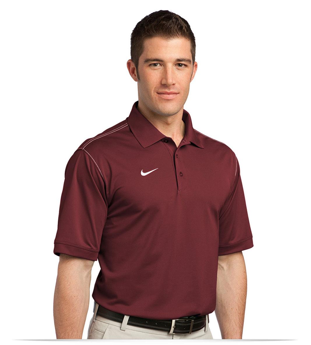 Customize Nike Golf Dri-FIT Sport Swoosh Pique Polo