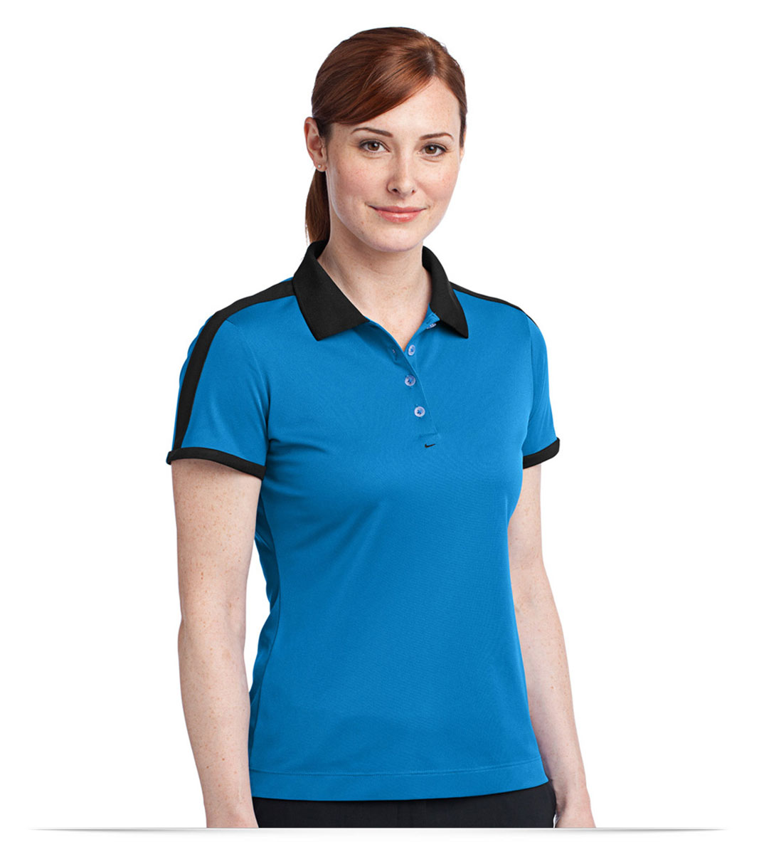 Design embroidered nike golf ladies dri fit n98 polo online for Custom adidas dri fit shirts