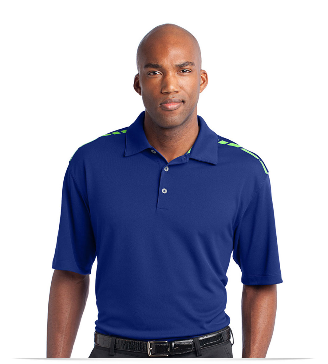 Custom Nike Golf Dri-FIT Graphic Polo with Logo
